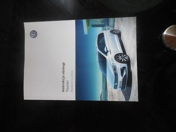 Bedienungsanleitung VW Touran auf polnisch