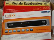 Digitaler Kabelreceiver TelSKY C 150-L