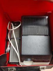 DDR Projektor mit 2 Kisten