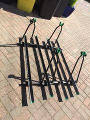 Auto-Fahrradträger 4-fach für Dachreling