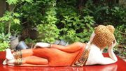 Liegender Buddha Dienstag Buddha Wochentag