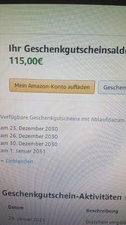 Amazon Guthaben