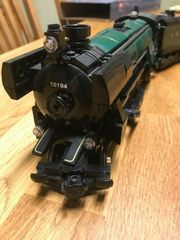 LEGO Creator Smaragdexpress 10194 beleuchtet
