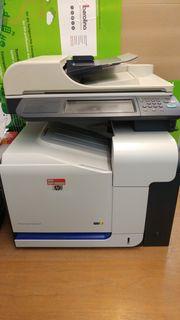 All-In-One-Farblaser Drucker Scanner Kopierer Fax