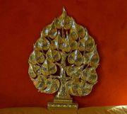 Thailand Kunsthandwerk Buddhabaum Bodhibaum Holz