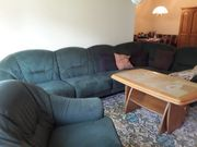 variable Couch mit Sessel
