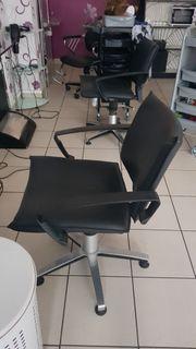Friseursalon Stühle Welonda Theke kasse