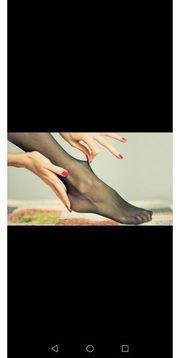 Nylons und Strumpfhosen und Socken