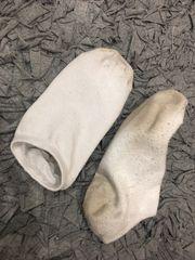 Socken Strümpfe getragen weiß Damen