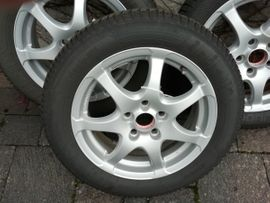 Winter 195 - 295 - Reifen mit Felgen