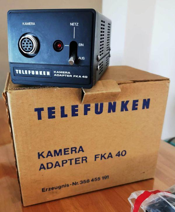 Telefunken Kamera Adapter FKA 40 + Verlängerungskabel