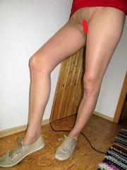 Strumpfhose Damen getragen Nylons Strümpfe