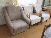3 Einzel-Sofas