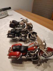 Motorrad - Modelle Sammlung