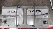 Aufbaubatterien für Wohnmobil Varta Professional