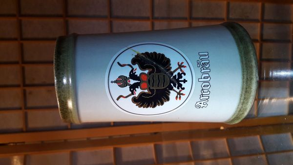 Arcobräu Bierkrug Bierseidel Steinkrug Seidel