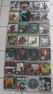 28 PS 3 Playstation Spiele