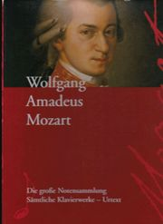 Klassik - Notensammlung - Wolfgang Amadeus Mozart