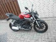 MT 125 Yamaha Motorrad