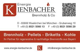 Holz - Schäftlarn Umgebung trocknes Scheitholz Kaminholz