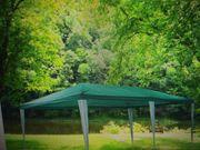 Pavillon Dach grün 3x6 m