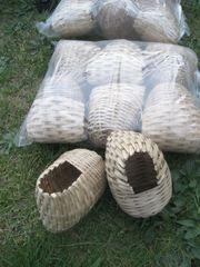 Große Exoten Zebrafinken Finken Kanarien-Vogel-Nester