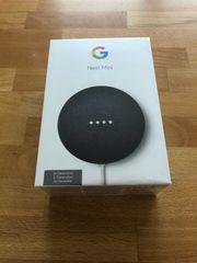 Google Nest Mini Carbon NEU