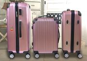 3 er SET Reise-Koffer ROSE-GOLD