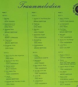 CDs, DVDs, Videos, LPs - TRAUM-MELODIEN Vinyl-LP-Box 3 LPs Schallplatten