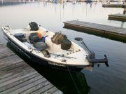 Angelboot REMUS 470 mit Trailer