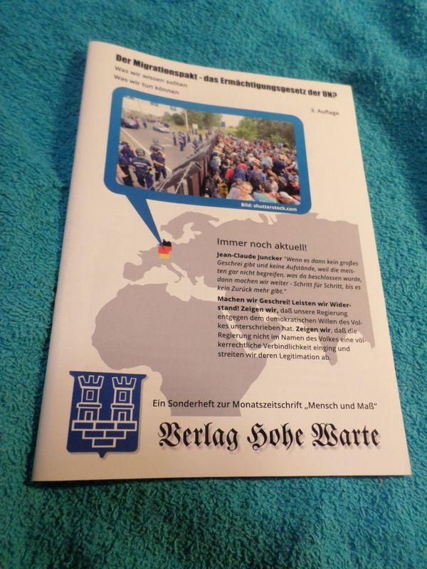 Der Migrationspakt - das Ermächtigungsgesetz der