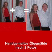 Handgemalte Bilder nach Ihren Fotos