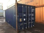 20ft Lagercontainer Seecontainer Schiffscontainer Farbe