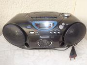 CD-Cassette-Player-Radio Panasonic RX-D19
