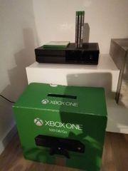 Xbox One mit 4 Spielen
