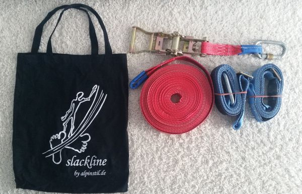 Slackline - Original Alpinstil