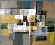 Großes neues BALI-Gemälde Abstr Komposition