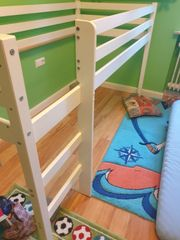 kinder hoch Bett Rahmen 90x200