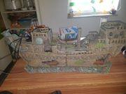großes Piratenschiff mit led