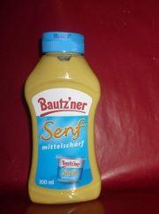 Bautzner Senf Quetschflasche 300 ml