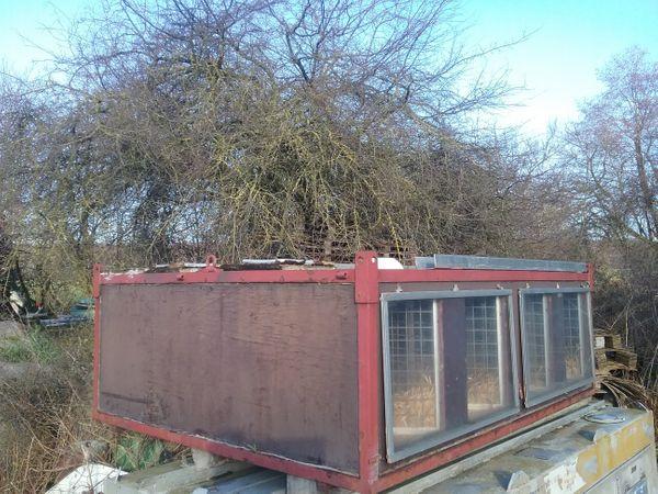 Hundetransportbox Hundebox Boxenaufsatz f Hänger