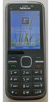 Nokia C5 inkl Zubehör