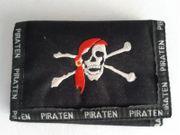 Cooles Piraten-Portemonnaie mit vielen Fächern