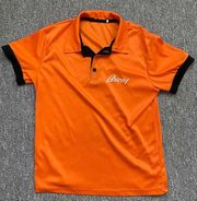 Brioni Poloshirt Gr M orange