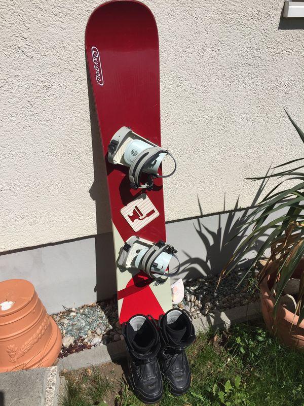 Snowboard Set Board von Oxygen