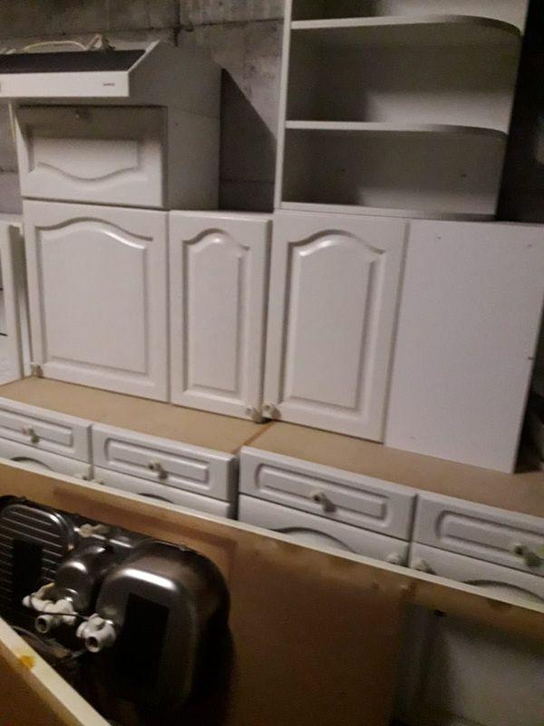 Alno L landhaus küche Weiß-Grau
