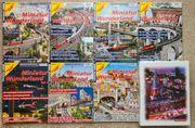 Eisenbahn-Kurier Miniatur Wunderland 7 Hefte