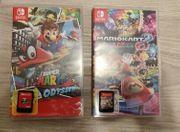 Mario Odyssey und Mario Kart