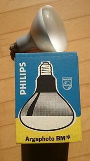 Fotolampe Philips Argaphoto BM 500
