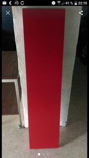 2 Wandboards Wandregale rot schwarz